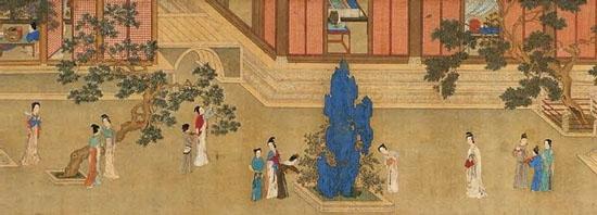 中国十大传世名画 - 云雾青山 - yunwuqingshan